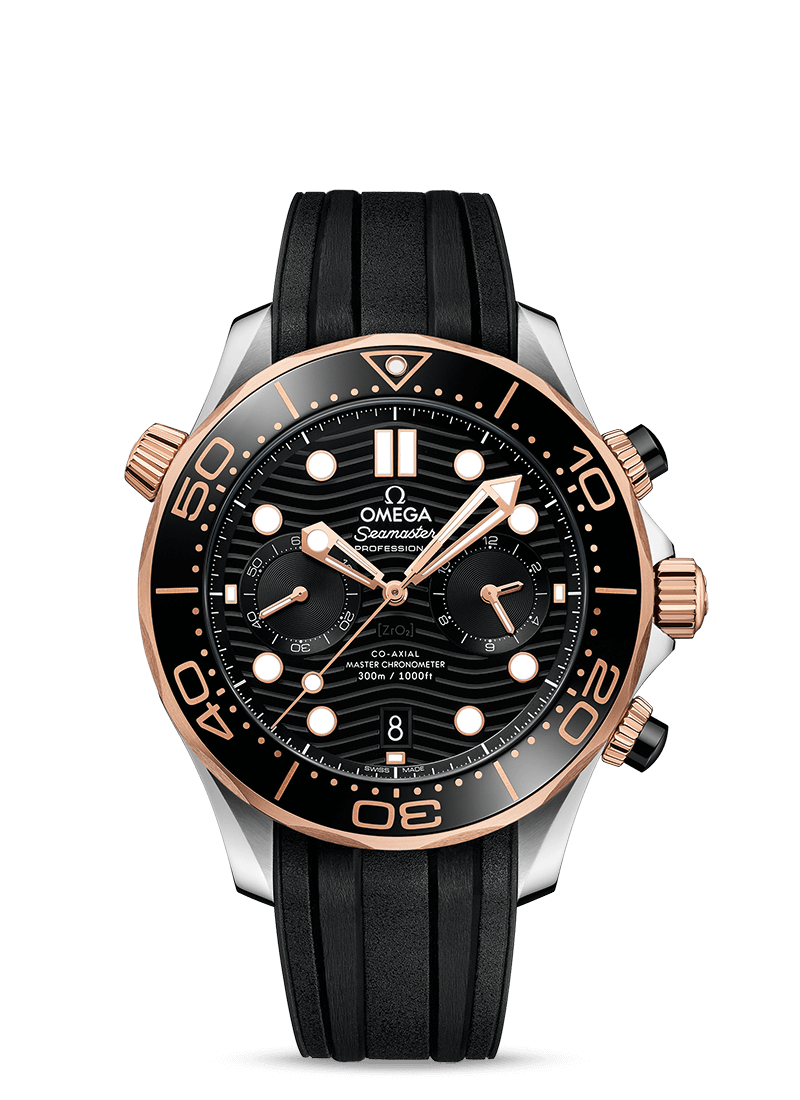 DIVER 300M OMEGA CO-AXIAL マスタークロノメータ― クロノグラフ44MM