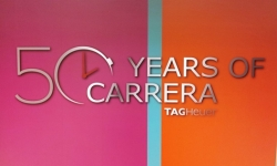 TAG Heuer FAIR ~50YEARS OF CARRERA~