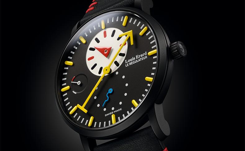 時計界の伝説、アラン・シルベスタイン。 ルイ・エラールと共に軽やかに復活する。